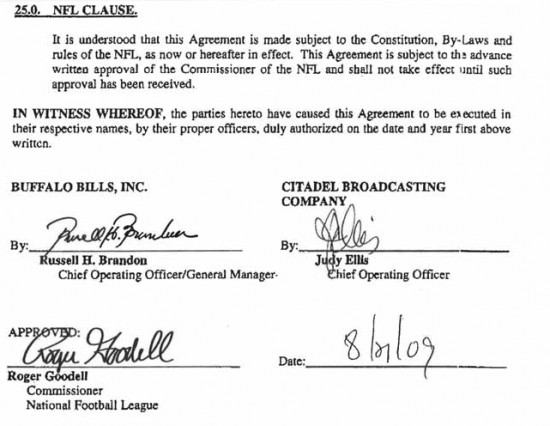 Court Denies NFL's Motion To Be Dismissed From Buffalo Jills Class Action Wage Theft Lawsuit